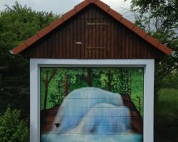 Studio68 Graffiti Ladenburg Wasserwerk