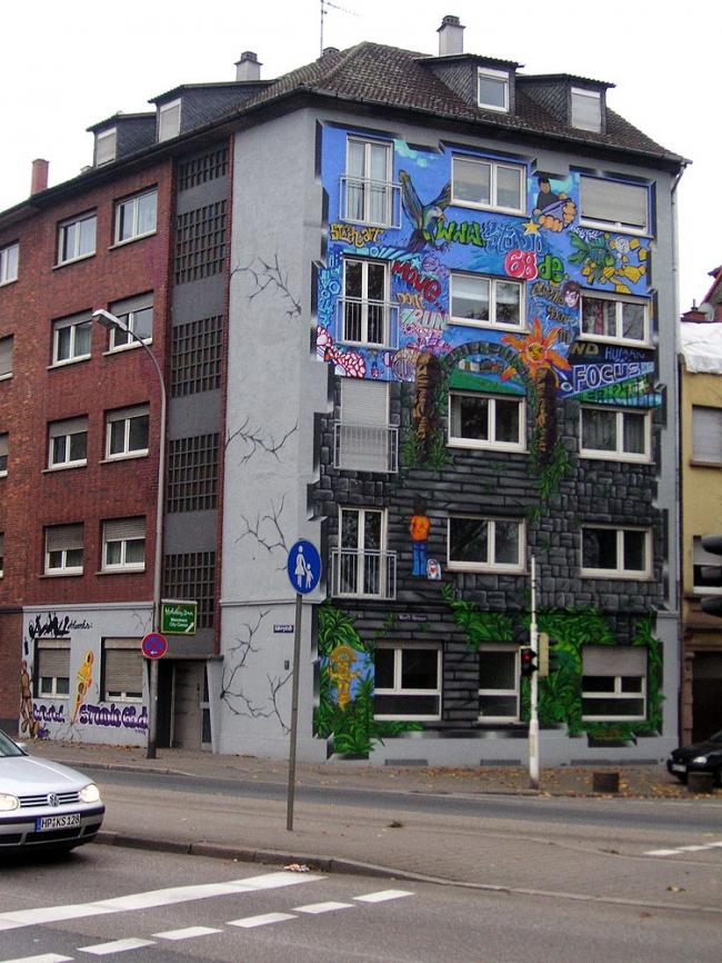 Graffiti Sprüher und ihre Mission