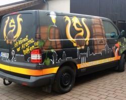 Studio68 Graffiti Worms Privatbrauerei Sander