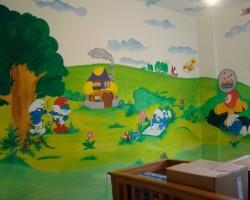Graffitti Lebanon Studio68 - Smurfvalley Harissa 2