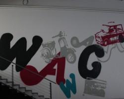 Studio68 Graffiti Freiberg - AWG Modehaus