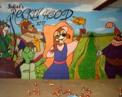 Graffitti Bürstadt Studio68 - Rockin Hood Spielzimmer
