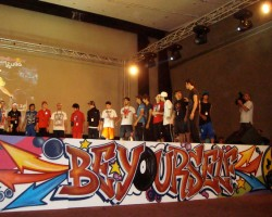 Graffiti Lebanon Studio68 - Red Bull Breaking-Event 2011