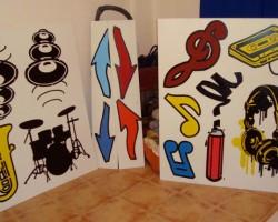 Graffiti Lebanon Studio68 - Red Bull Musicacademy Beirut 2
