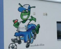 Graffiti Mannheim Studio68 - Anpfiff ins Leben e.V.