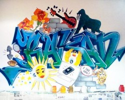 Graffitti Lebanon Studio68 - Rakan