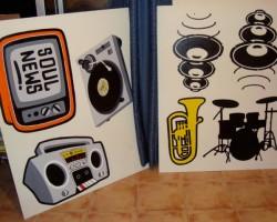 Graffitti Lebanon Studio68 -Red Bull Musicacademy Beirut