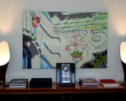 Graffiti Mannheim Leinwand Studio68 - Heritus AG