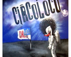 Graffiti Ibiza Leinwand Studio68 - CircoLoco
