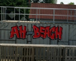 Studio68 Graffiti Mannheim TUS Neckarau AH-Beach