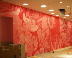 Studio68 Graffiti Düsseldorf Mural - Basler-Fashion Showroom