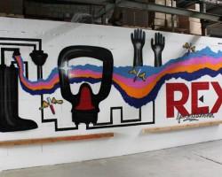Graffiti Pfungstadt Studio68 - REX-Gummitechniken