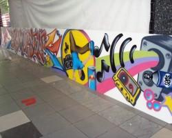 Graffiti Lebanon Studio68 - Red Bull Breaking Event 2011