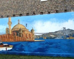 Graffiti Mannheim Studio68 - Moschee Jungbusch